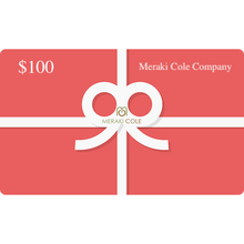 Load image into Gallery viewer, Instant MC Gift Card $100 USD - Meraki Cole Company