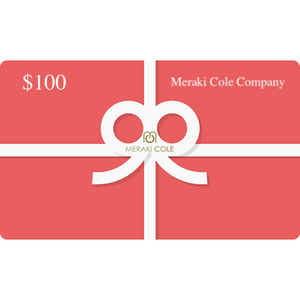 Instant MC Gift Card $100 USD - Meraki Cole Company