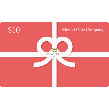 Instant MC Gift Card $10 USD - Meraki Cole Company