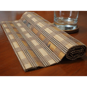 Handmade Wide Bamboo Placemats (Set of 4) - Meraki Cole Company