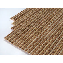 Load image into Gallery viewer, Handmade Bamboo Placemats Natural/Medium (Set of 4)