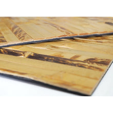 Load image into Gallery viewer, Natural Bamboo Wood Square Placemats (Set of 2) - Meraki Cole Company