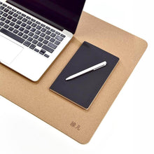 Load image into Gallery viewer, Natural Cork Desktop Mouse Pad - Meraki Cole Company