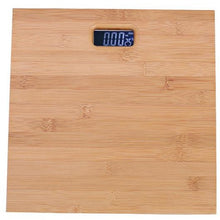 Load image into Gallery viewer, Smart LED Digital Bamboo Bathroom Scale - Meraki Cole Company