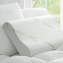Load image into Gallery viewer, Rebound Bamboo Fiber Memory Foam Pillow - Meraki Cole Company