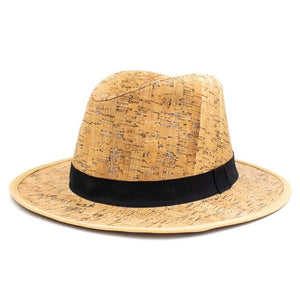 Cork Fedora Hat