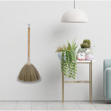 Load image into Gallery viewer, Asian Flower Broom Thai Traditional Grass Broom 40 Inch Length - Meraki Cole Company