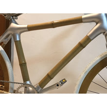 Load image into Gallery viewer, Bamboo Bike White Fixie - Meraki Cole Company