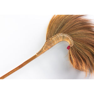 Thai Traditional Natural Witch Grass Broom 40 Inch Length - Meraki Cole Company