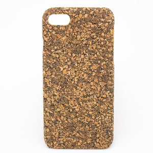 Natural Cork iPhone 7/8 Case - Rustic Cork - Meraki Cole Company