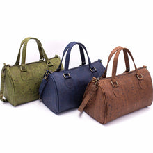 Load image into Gallery viewer, Cork Duffle Overnight Bag - Meraki Cole Company