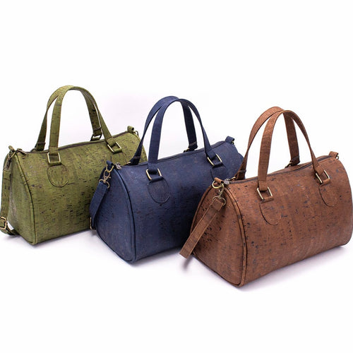 Cork Duffle Overnight Bag - Meraki Cole Company