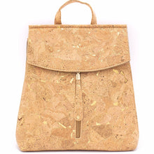 Load image into Gallery viewer, 100% Natural Cork Backpack - Natural - Meraki Cole Company