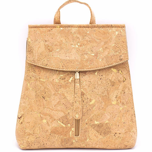 100% Natural Cork Backpack - Natural - Meraki Cole Company
