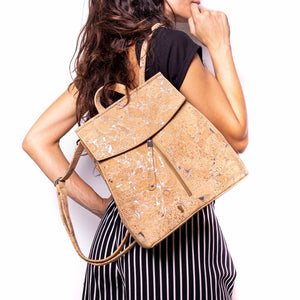 100% Natural Cork Backpack