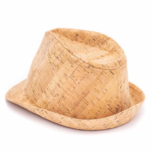 Natural Cork Fedora Hat - Meraki Cole Company