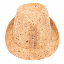 Load image into Gallery viewer, Natural Cork Fedora Hat - Meraki Cole Company