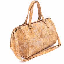 Load image into Gallery viewer, Natural Cork Duffle Overnight Bag - Meraki Cole Company