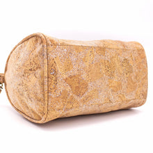 Load image into Gallery viewer, Natural Cork Duffle Overnight Bag - Bottom View - Meraki Cole Company
