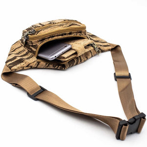 Striped Cork Fanny Pack - Meraki Cole Company
