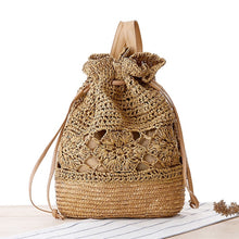 Load image into Gallery viewer, Ladies Casual Straw Spring Bag - Meraki Cole Company