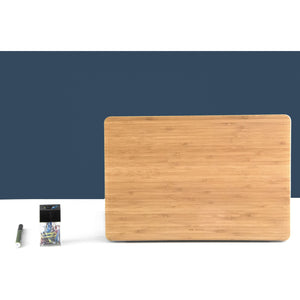 MacBook Bamboo Skin Cover - Meraki Cole Company