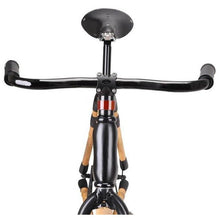 Load image into Gallery viewer, Bamboo Bike Black Fixie - Meraki Cole Company