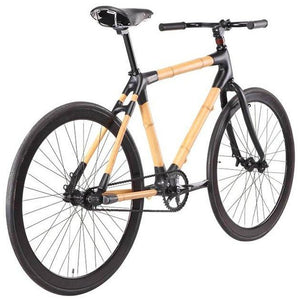 Bamboo Bike Black Fixie - Meraki Cole Company
