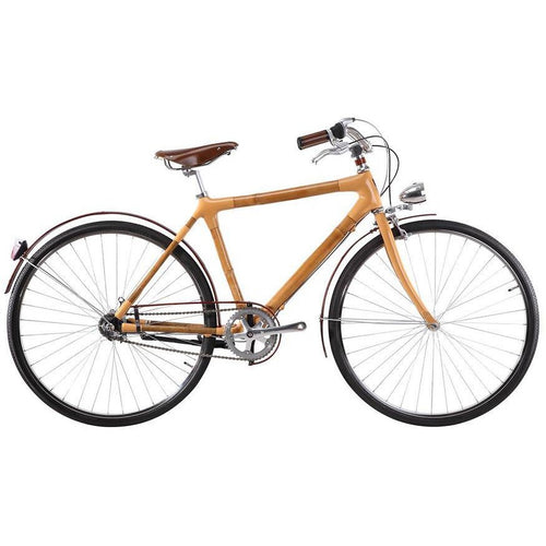 3-Speed Bamboo City Bike - Meraki Cole Company