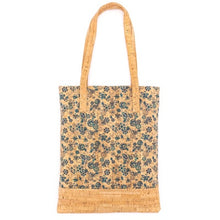 Load image into Gallery viewer, Colorful Reusable Eco-Friendly Cork Tote - Meraki Cole Company