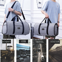 Load image into Gallery viewer, 2 in 1 Duffel Garment Bag