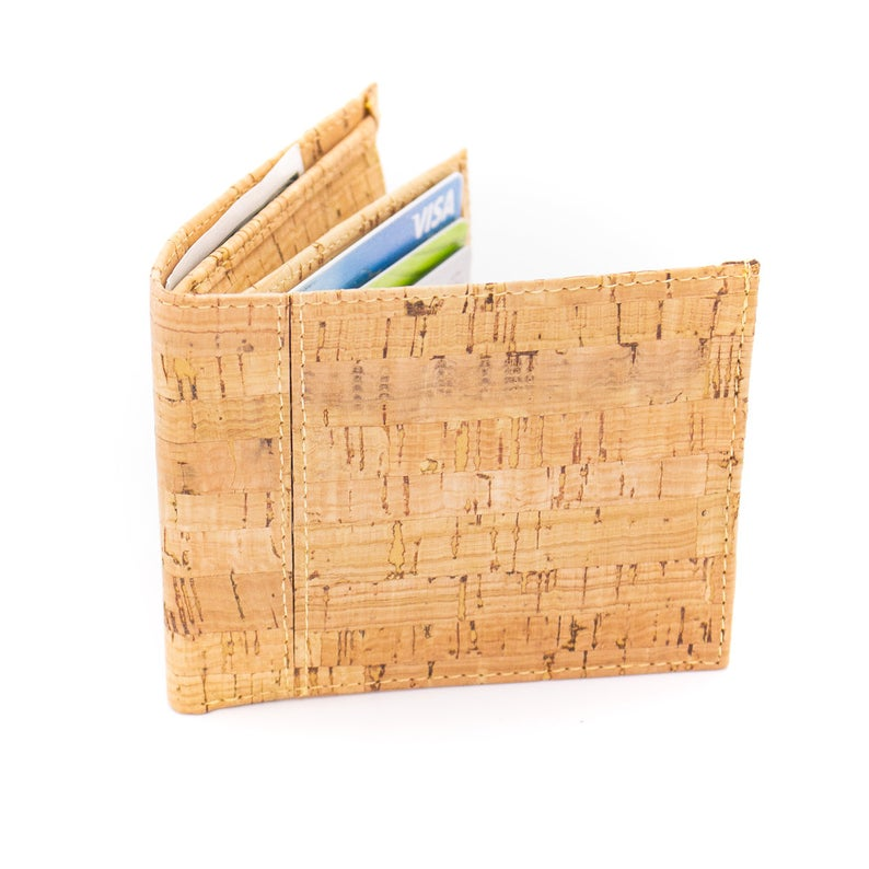 Eco-Friendly Cork Wallet for Men - Meraki Cole Company