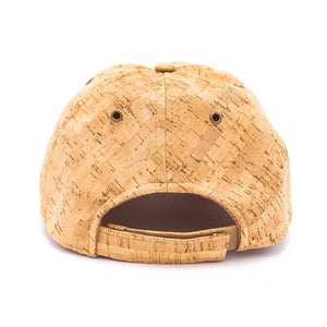 Natural Cork Baseball Hat - Meraki Cole Company