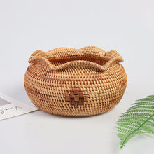 Load image into Gallery viewer, Handmade Rattan Weaving Storage Bowl - Meraki Cole Company