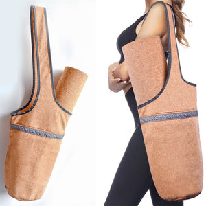 Natural Cork Yoga Bag