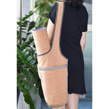 Load image into Gallery viewer, Natural Cork Yoga Bag