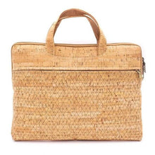 Load image into Gallery viewer, Natural Cork Laptop Work Bag - Meraki Cole Company