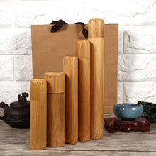 Load image into Gallery viewer, Bamboo Storage Tube Container - Meraki Cole Company