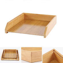 Load image into Gallery viewer, Bamboo Desk Tray Organizer - Meraki Cole Company