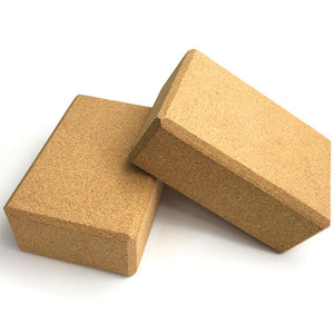 Cork Yoga Block - Meraki Cole Company