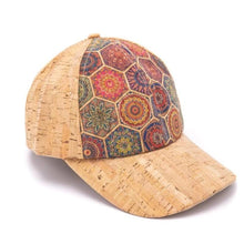 Load image into Gallery viewer, Natural Cork Patterned Baseball Hat