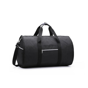 2 in 1 Duffel Garment Bag - Color Black - Meraki Cole Company