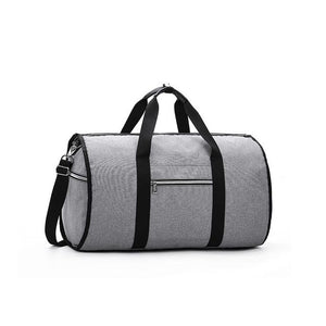 2 in 1 Duffel Garment Bag - Color Gray - Meraki Cole Company