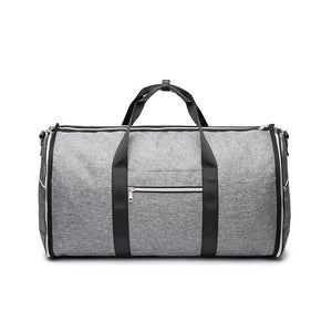 2 in 1 Duffel Garment Bag - Color Dark Gray - Meraki Cole Company