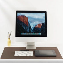 Load image into Gallery viewer, Brown Cork Desktop Mouse Pad - Life Style Picture - Meraki Cole Company