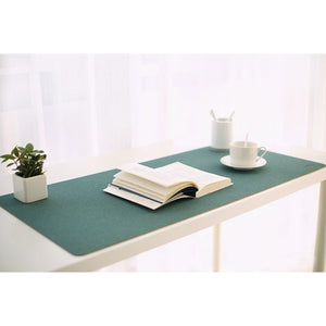 Blue Green Cork Desktop Mouse Pad - Meraki Cole Company