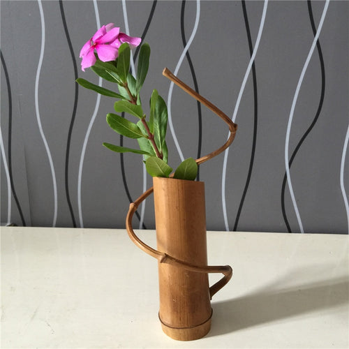 Bamboo Wedding Decorative Vase - Meraki Cole Company