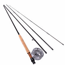 Load image into Gallery viewer, Cork Handle Fly Fishing Rod Combo (6 Piece Set) - Meraki Cole Company