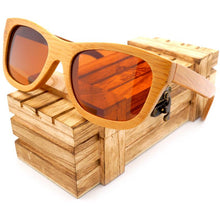 Load image into Gallery viewer, 100% Natural Bamboo Wooden Sunglasses - Meraki Cole Company