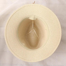 Load image into Gallery viewer, Boho Beach Wide Brim Fedora Hat - Meraki Cole Company
